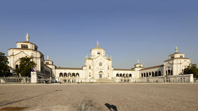 Monumental Cemetery square, Milan Stock Photography