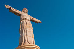 Monumental Christ at Atachi Hills. Taxco, Mexico. Monumental Christ at Atachi Hills, Taxco, Mexico Royalty Free Stock Photos