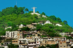 Monumental Christ at Atachi Hills. Taxco, Mexico. Monumental Christ at Atachi Hills, Taxco, Mexico Stock Photography