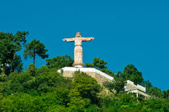 Monumental Christ at Atachi Hills. Taxco, Mexico. Monumental Christ at Atachi Hills, Taxco, Mexico Royalty Free Stock Images