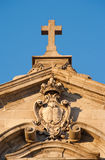 Monumental church detail Royalty Free Stock Photography