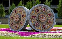 monumental cirkel Arkivfoto