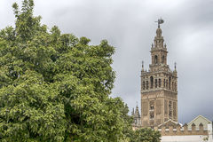 Monumental cities of Spain, Sevilla Royalty Free Stock Images