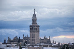 Monumental cities of Spain, Sevilla Royalty Free Stock Image