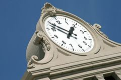Monumental clock Royalty Free Stock Image