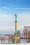 Monumental column in Copenhagen, Denmark Stock Images