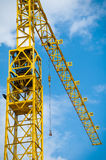 Monumental crane in the shipyard Stock Photography