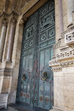 Monumental door. Of a church in Paris Royalty Free Stock Images