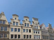 Monumental facades Royalty Free Stock Photos