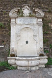 Monumental fountain. Civita Castellana. Lazio. Italy. Stock Photo