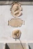 Monumental fountain. Morano Calabro. Calabria. Italy. Royalty Free Stock Image