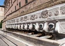 Monumental Fountain Of Calamo Stock Image