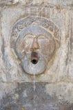 Monumental fountain. Satriano di Lucania. Italy. Stock Photo