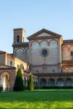 Monumental graveyard of Ferrara city Stock Photos