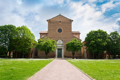 The monumental graveyard of Ferrara city Stock Images