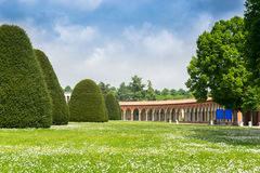 The monumental graveyard of Ferrara city Stock Photography
