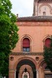 The monumental graveyard of Ferrara city Royalty Free Stock Photos