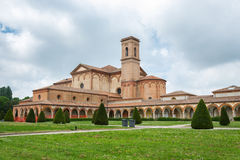 The monumental graveyard of Ferrara city Royalty Free Stock Photo