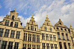 Monumental House Facades, Antwerp Royalty Free Stock Image