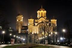 Monumental kyrka Royaltyfria Bilder