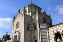 Monumental kyrkogård, Cimitero Monumentale, Milan Fotografering för Bildbyråer