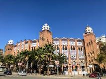 Monumental La, Barcelona arkivfoto