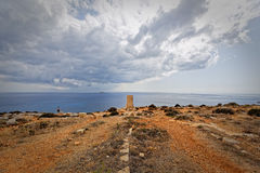 Monumental route of the megalithic temples of Malta Royalty Free Stock Photography