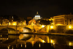 Monumental St. Peter's Basilica in Vatican, Italy Stock Photography
