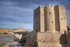 Monumental stad för CÃ-³rdoba av Andalusia, Spanien Arkivfoto