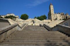Monumental staircase Royalty Free Stock Photos