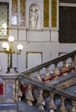 Monumental staircase of Palazzo Arese Litta in Milan Stock Image