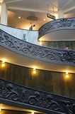 Monumental Stairs of the Vatican Museum Royalty Free Stock Images