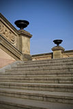 The monumental stairway Royalty Free Stock Photos