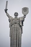 Monumental statue Mother Motherland Royalty Free Stock Photos