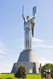 Monumental statue of the Mother Motherland devoted the Great Patriotic War, Kiev, Ukraine Royalty Free Stock Photos