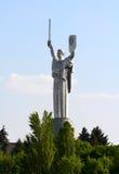 Monumental staty av Royaltyfri Fotografi