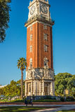Monumental Tower in Buenos Aires, Argentina Stock Photos