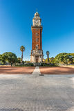 Monumental Tower in Buenos Aires, Argentina. Monumental Tower located on Retiro neighborhood in Buenos Aires, Argentina Stock Image