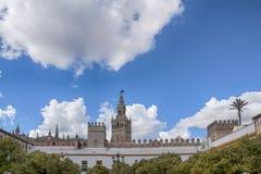 Monumentala städer av Spanien, Sevilla Royaltyfri Fotografi