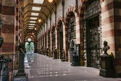 Monumentale begraafplaats in Milaan, Italië Royalty-vrije Stock Foto