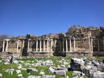 Monumentale Fontein Zijantalya Turkije stock foto's