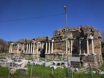 Monumentale Fontein Zijantalya Turkije royalty-vrije stock fotografie