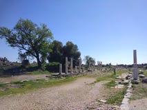 Monumentale Fontein Zijantalya Turkije stock foto