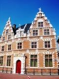 Monumentale Statenlogement in een mooie historische en havenstad Hoorn, Holland, Nederland royalty-vrije stock fotografie