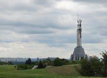 Monumentalna rzeźba w Kijowskim kraju ojczystym Obrazy Royalty Free
