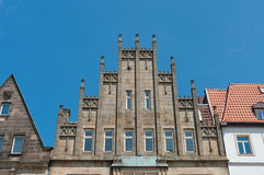 Monumentalne fasady Obrazy Royalty Free