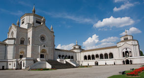 monumentalny cmentarzy Milan Obrazy Royalty Free