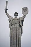 Monumentalny statuy matki kraj ojczysty Zdjęcia Royalty Free