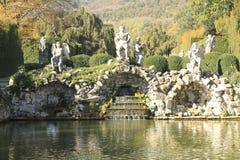 Monumentalt komplex av Valsanzibio av Galzignano Terme Padua royaltyfri fotografi