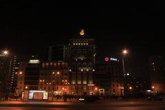 Monumentalt ställe, Warszawa royaltyfria bilder